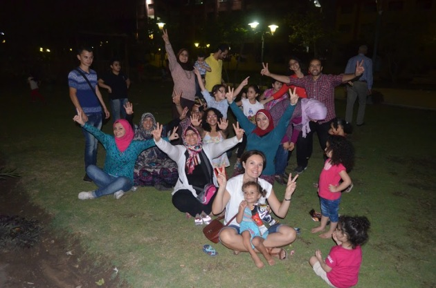 небольшая часть нашей египетской семьи)