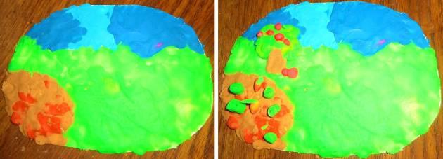Картина из пластилина своими руками