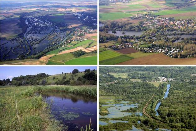 Река Сомм Пикардия Франция