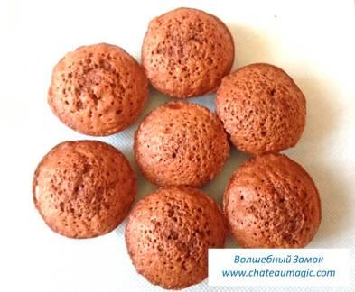 Рецепт шоколадного кекса фондан