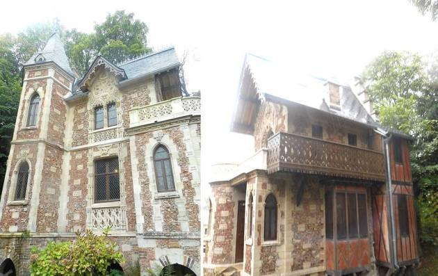 Дом музей Александра Дюма в пригороде Парижа