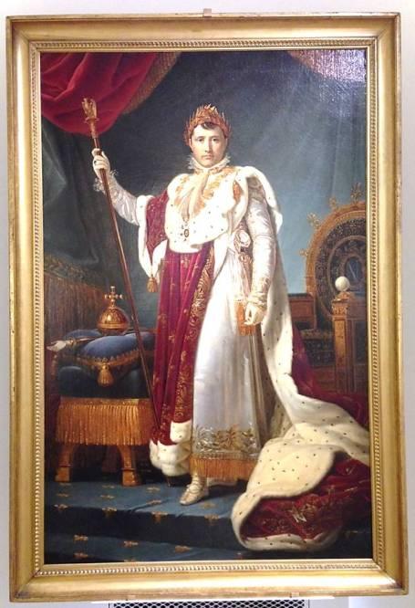 Жерар Наполеон в коронационном костюме