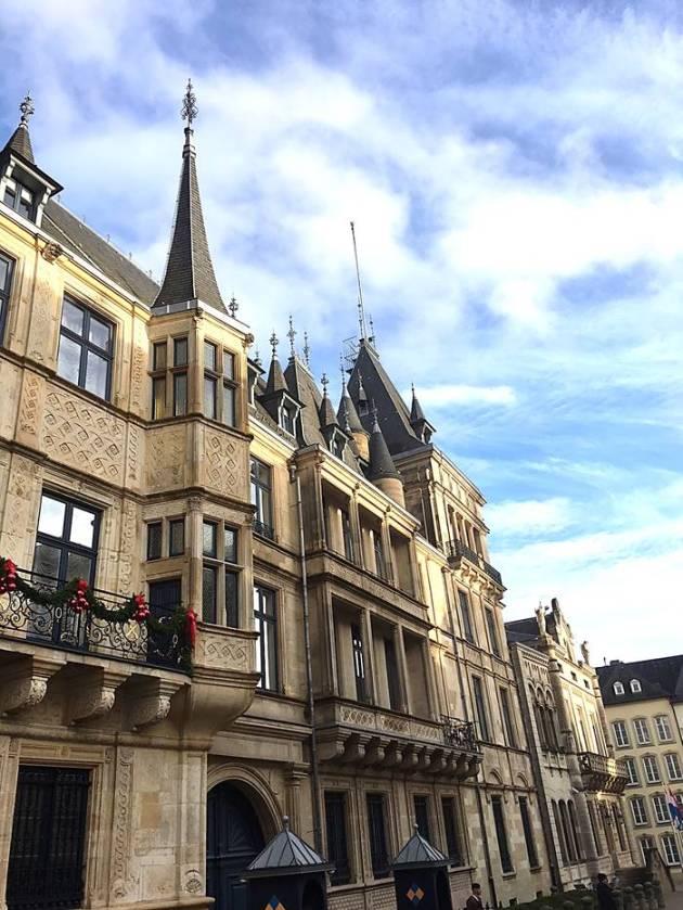 Люксембург город
