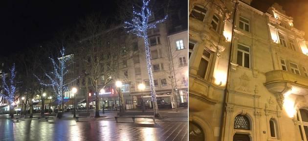 Люксембург зима